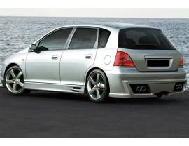 Honda Civic MK7 Aggressive Rear Bumper