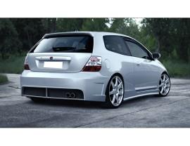 Honda Civic MK7 Atex Rear Bumper
