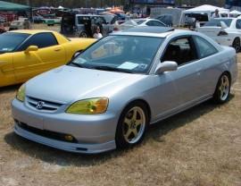 Honda Civic MK7 Coupe Mugen-Look Front Bumper Extension