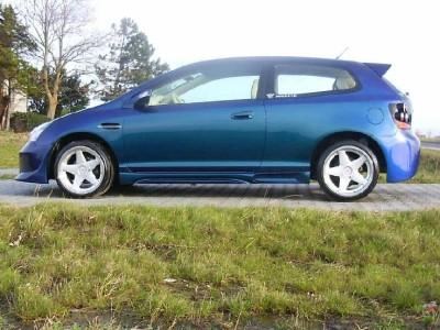 Honda Civic MK7 DBX Seitenschwellern