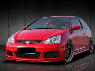 Honda Civic MK7 Exclusive Front Bumper