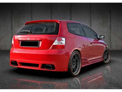 Honda Civic MK7 Exclusive Rear Bumper