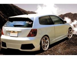 Honda Civic MK7 Lambo Rear Bumper