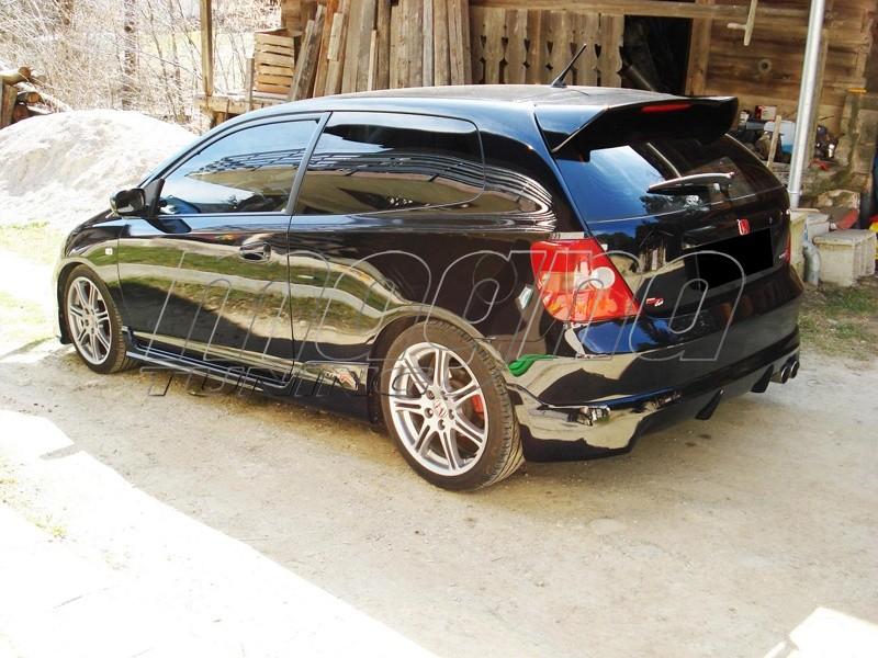Honda Civic MK7 Mugen-Look Rear Bumper Extension