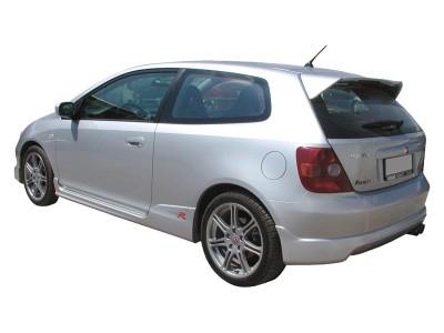 Honda Civic MK7 R-Look Rear Bumper Extension