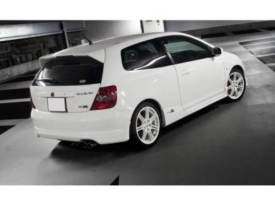 Honda Civic MK7 R-Style Rear Bumper Extension
