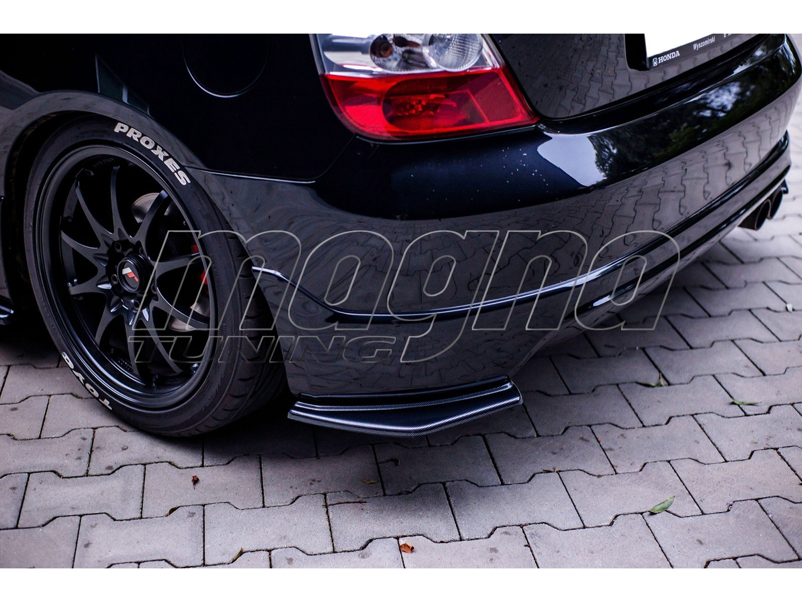 Honda Civic MK7 Type-R MX Rear Bumper Extensions
