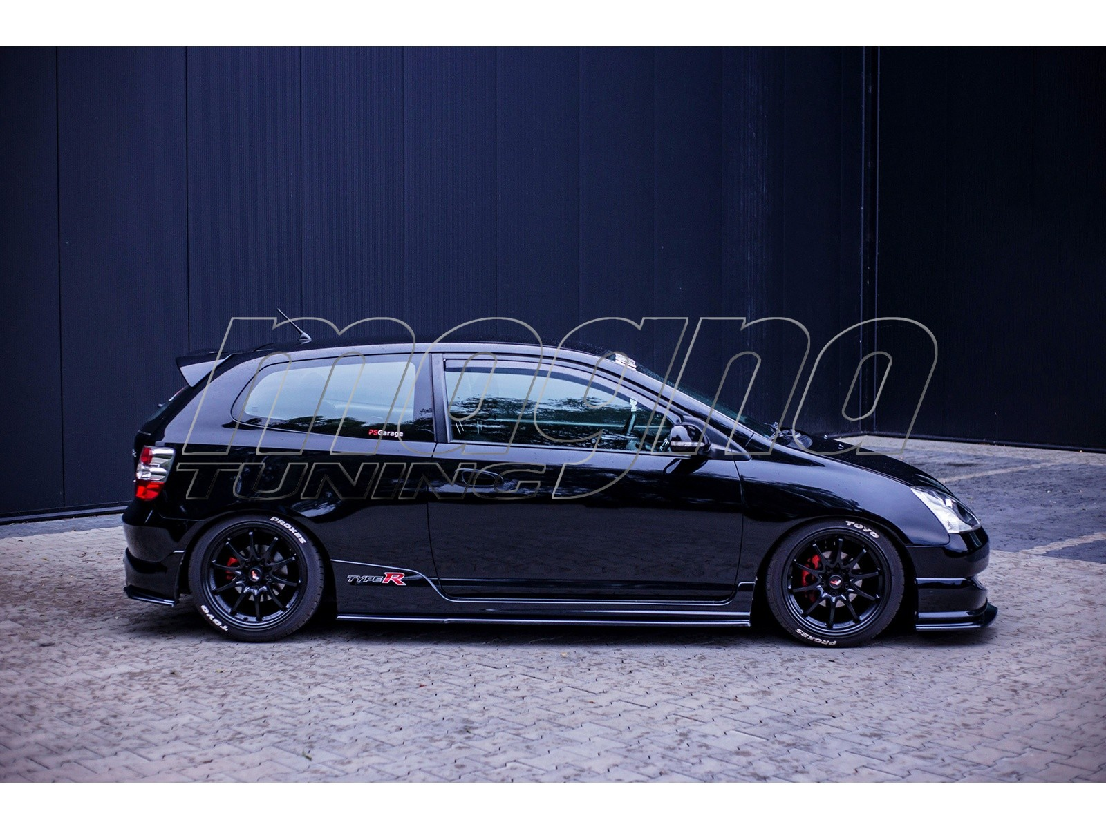 Honda Civic MK7 Type-R MX Side Skirt Extensions