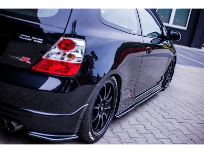 Honda Civic MK7 Type-R MX Side Skirts