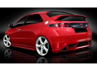 Honda Civic MK8 A2 Rear Bumper Extension