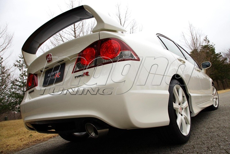 honda civic mk8 body kit type r look. Black Bedroom Furniture Sets. Home Design Ideas