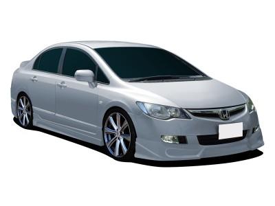 Honda Civic MK8 Extensie Bara Fata Street