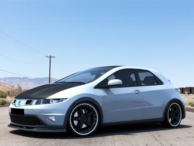 Honda Civic MK8 Facelift Extensie Bara Fata Strike