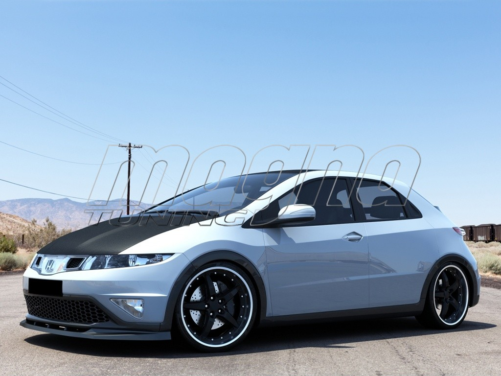 Honda Civic MK8 Facelift Strike Front Bumper Extension