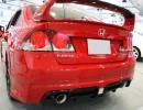 Honda Civic MK8 Mugen-Look Rear Bumper Extension