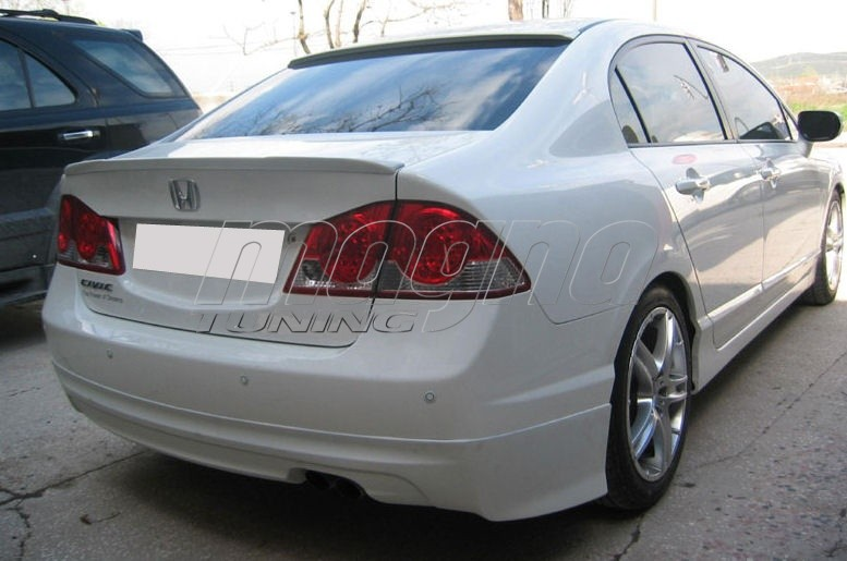 Honda Civic Mk Mugen Style Body Kit Picture on Honda Civic From Bumper