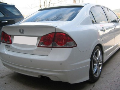 Honda Civic MK8 Mugen-Style Rear Bumper Extension