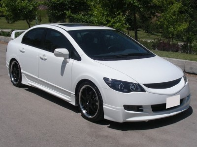 Honda Civic MK8 Mugen-Style Side Skirts