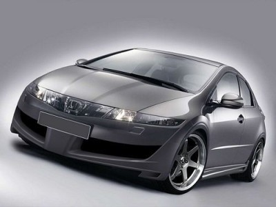 Honda Civic MK8 Razor Front Bumper