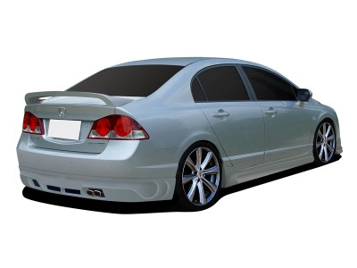 Honda Civic MK8 Street Rear Bumper Extension