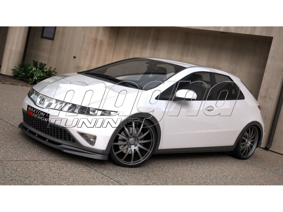 Honda Civic MK8 Strike Front Bumper Extension