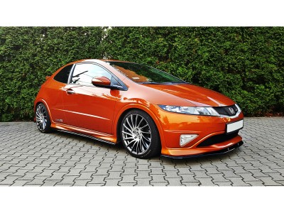 Honda Civic MK8 Type-R Extensie Bara Fata Master