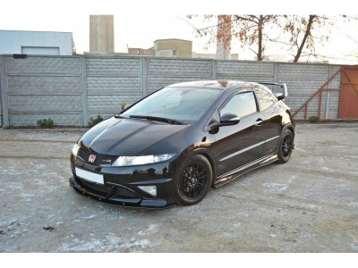 Honda Civic MK8 Type-R GP Meteor Front Bumper Extension