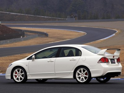 Honda Civic MK8 Type-R-Look Side Skirts