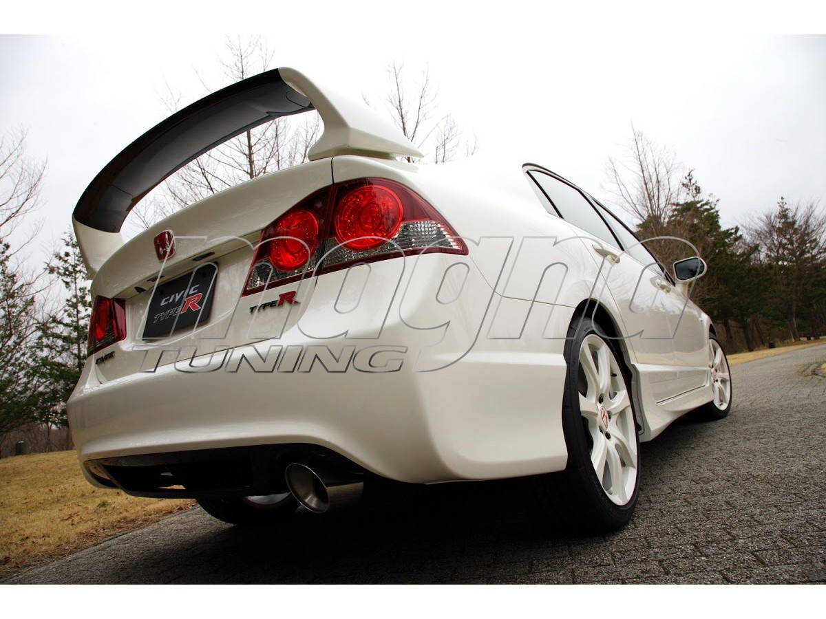 honda civic mk8 type r style rear wing. Black Bedroom Furniture Sets. Home Design Ideas