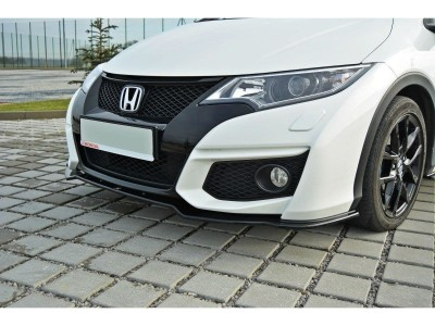 Honda Civic MK9 Matrix Front Bumper Extension