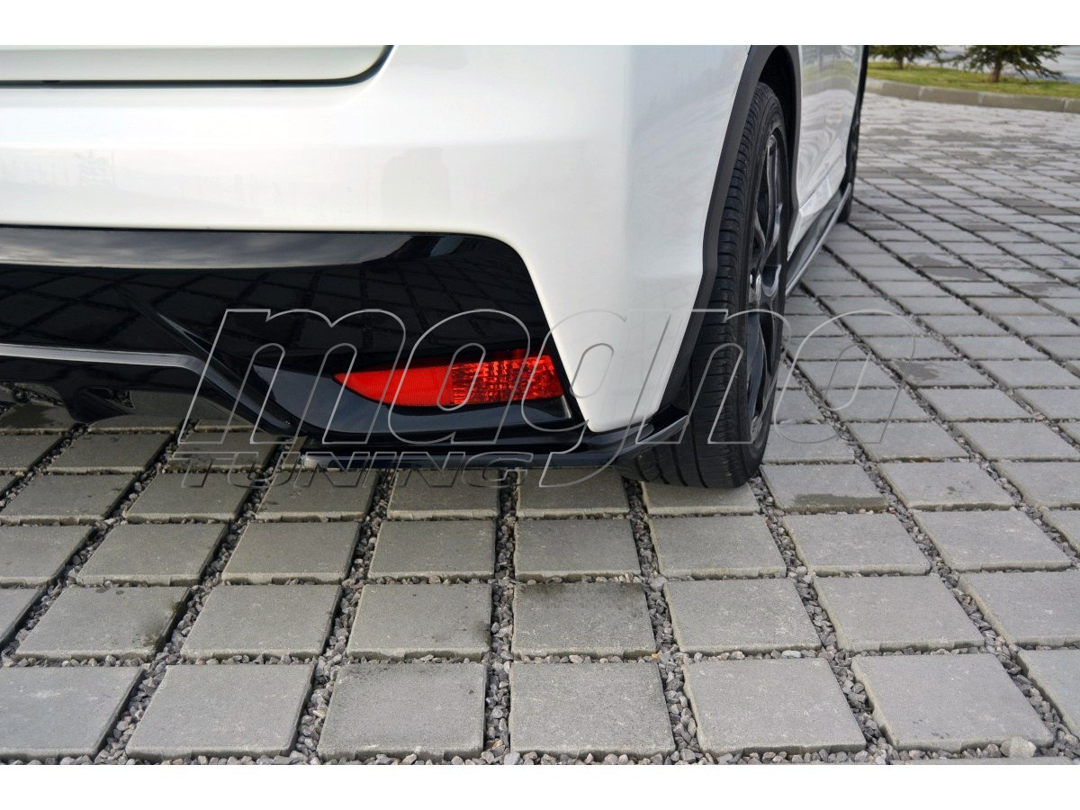 Honda Civic MK9 Matrix Rear Bumper Extensions