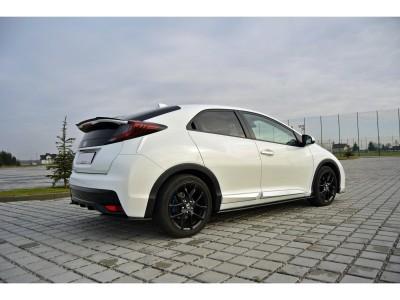 Honda Civic MK9 Matrix Side Skirt Extensions