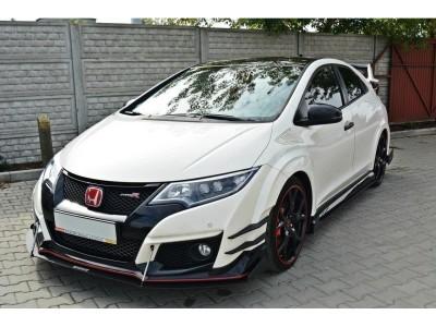 Honda Civic MK9 Type-R Extensie Bara Fata RaceLine2