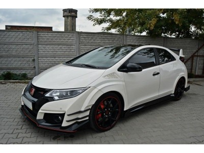 Honda Civic MK9 Type-R Extensie Bara Fata RaceLine