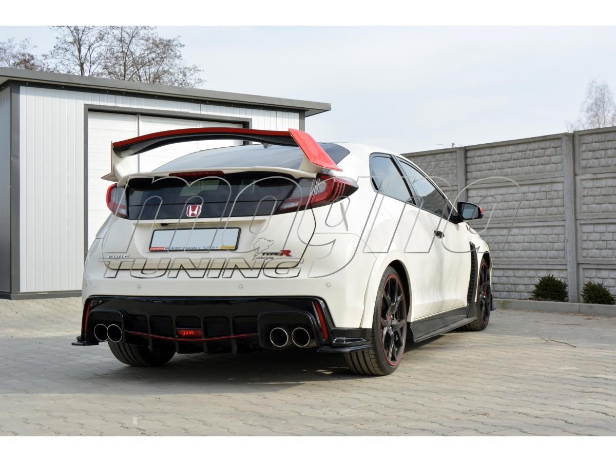 Honda Civic MK9 Type-R MX Rear Bumper Extension