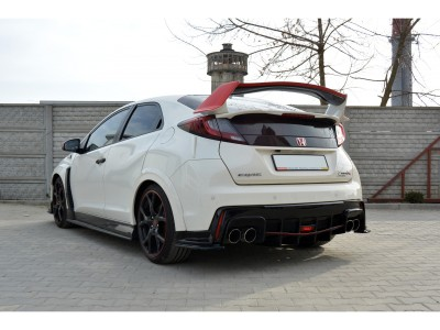 Honda Civic MK9 Type-R MX Rear Bumper Extension