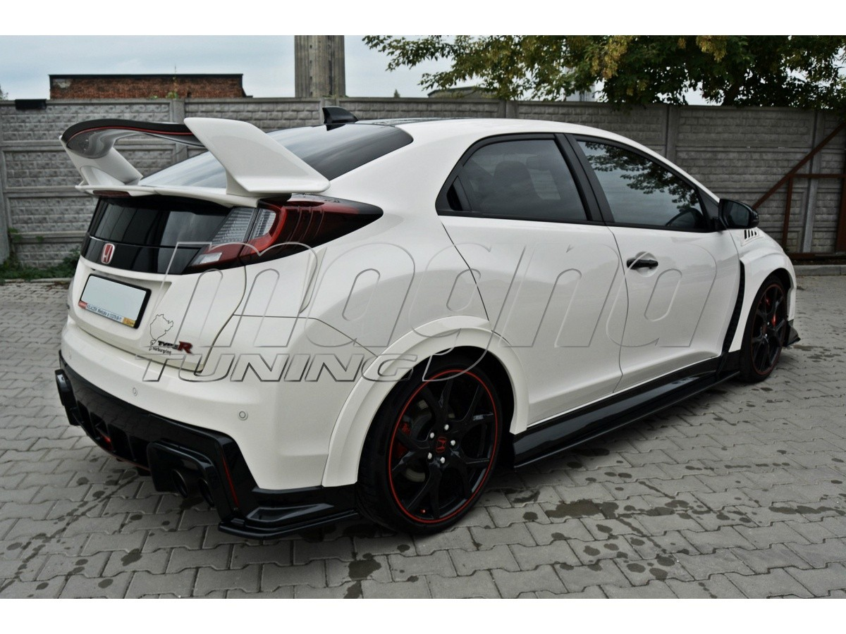honda civic mk9 type r mx side skirts. Black Bedroom Furniture Sets. Home Design Ideas