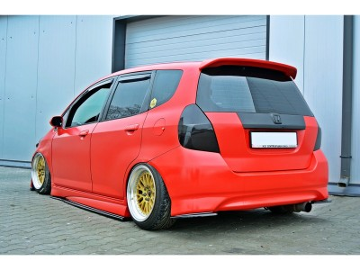 Honda Jazz MX Rear Bumper Extensions