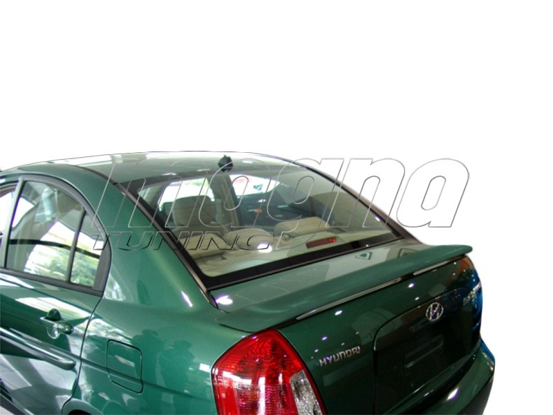 Hyundai Accent MK3 Master Rear Wing