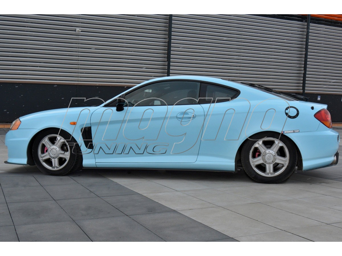 Hyundai Coupe MK2 Racer Side Skirt Extensions