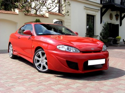 hyundai coupe mk1 - body kit, front bumper, rear bumper, side skirts