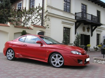 Hyundai Coupe Night Side Skirts