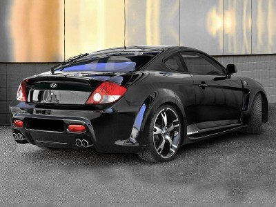 Hyundai Coupe Outrage Rear Wing