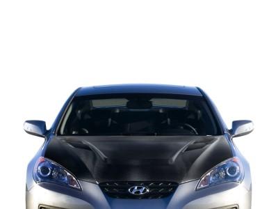 Hyundai Genesis Coupe Capota Vortex Fibra De Carbon