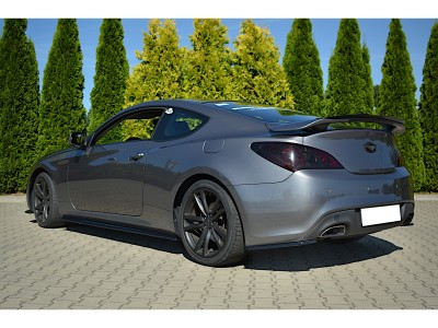 Hyundai Genesis Coupe MX Rear Bumper Extensions