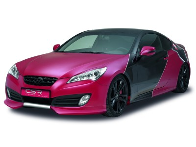 Hyundai Genesis Coupe NewLine Front Bumper Extension