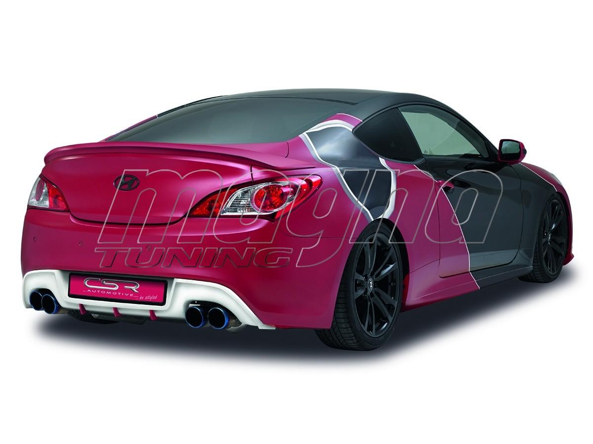 Hyundai Genesis Coupe NewLine Rear Bumper Extension