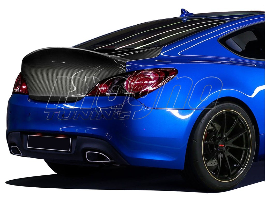 Hyundai Genesis Coupe RS-Line Carbon Fiber Trunk