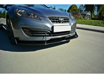 Hyundai Genesis Coupe Racer Front Bumper Extension