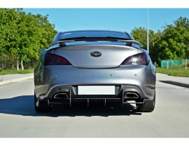 Hyundai Genesis Coupe Racer Rear Bumper Extension